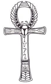 пин от пользователя Astf на доске е крест египетская татуировка