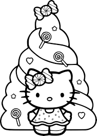 Dessin De Noel Hello Kitty Chaise De Bureau