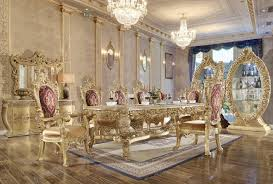 European Classical Interior Design Hd 8086 Dining Set Homey Design Victorian European Classic Design