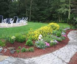 ... Large-size of Special Front Yard Flower Beds Fence Landscape Easy To  Maintain Along With ...