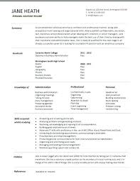 College Student Resume Format Resume Format For Students With No