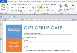 Make Your Own Gift Certificates Free Free Word Template For Making Printable Gift Certificates
