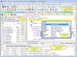 Screenshot, Review, Downloads of Shareware PSPad Editor