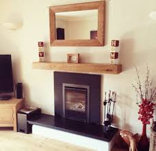 oak beam fireplace beams stove floating mantel stove