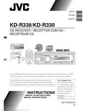 wiring diagram for jvc kd r330 wiring discover your wiring jvc kdr330 manuals jvc kdr330 singledin car stereo