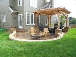 patio ideas with fire pit on a budget. Backyard Patio Ideas Outside On A Budget Design With Fire Pit