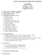 Planning Meeting Agenda Template Annual Planning Meeting Agenda Template Strategic Planning