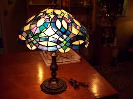 stained glass lamp shade repair the 3