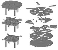 builder ing diy plans to a fletcher capstan style table what lovable expandable round dining table