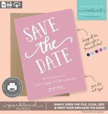 Print Your Own Save The Date 004 Save The Date Templates Word Template Frightening Ideas