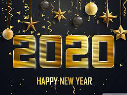 Happy New Year 2020 Ultra HD Desktop ...