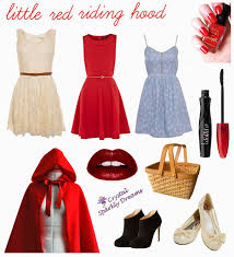 little red riding hood as with some of the costume ideas from yesterdays post this one is super quick and easy pick out a simple cute dress
