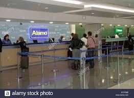 Car Rental Counter Stock Photos Car Rental Counter Stock Images Alamo Car Hire Lisbon Airport Portugal