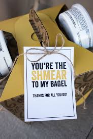 breakfast bagel gift basket such a great gift idea for teachers neighborore