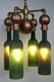 how to make a chandelier out of wine bottles wine bottle chandeliers metal chandelier for wine
