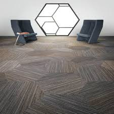 Shaw Linear Shift Hexagon Carpet Tile With Free Shipping