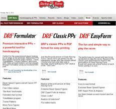 Drf Com Pdf Charts The Daily Racing Form Drupal Org