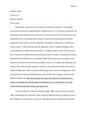 the lesson summary in the lesson toni cade bambara relates this 6 pages la raza mexican pr essay
