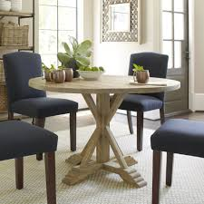 Round Country Kitchen Table Hammersley Round Dining Table Reviews Birch Lane