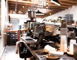 Four barrel is an unpretentious place that serves up delicious coffee and espresso drinks (as well as handful of pastries), in addition to giving you a great view of their roasting operations in back. Four Barrel Coffee Related Rentals