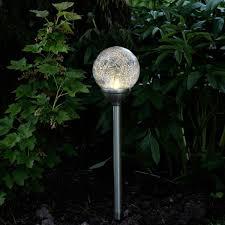 solar garden lights led bollard