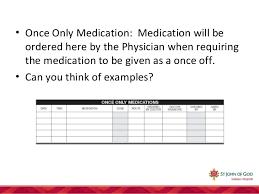 Sjog Subiaco Hospital Medication Chart
