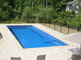 square above ground pool. Square Swimming Pool Designs Small Garden White Stony Floor Black Fence Ideas Above Ground