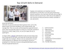Lets Talk Soft Skills Hard Skills Transferable Skills