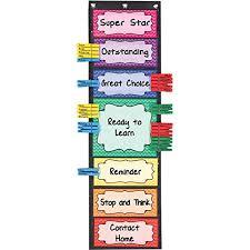 Kindergarten Classroom Behavior Chart Really Good Stuff Classroom Behavior Ez Tuck Clip N Track