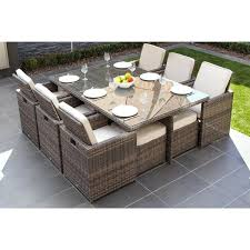 wicker dining table piece outdoor wicker dining table and cushion set by direct wicker rattan round wicker dining table