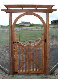 garden gate plans. Garden Gate - Placed At The Vegetable Yard My Easy Woodworking Plans P