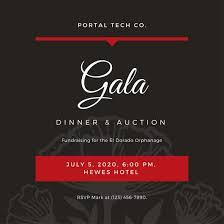 Auction Invitations Customize 76 Gala Invitation Templates Online Canva