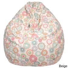 Starburst Pinwheel Pattern Large Teardrop Cotton Bean Bag Chair - Free  Shipping Today - Overstock.com - 16174391