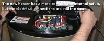 how to install an electric water heater one project closer rheem water heater wiring diagram at Wiring Diagram For Electric Water Heater
