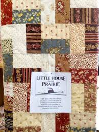 the Bear Blog: Little House on the Prairie from Andover Fabrics & The Logs and Ladders Quilt is available for free on the Andover website. Adamdwight.com
