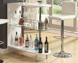 contemporary bar furniture. Contemporary White Bar Table Furniture A
