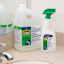 procter 22570 1 gallon 128 oz comet disinfecting sanitizing bathroom cleaner 3 case