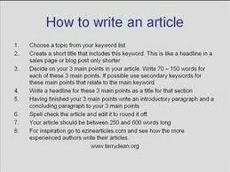 systematic article review methods section