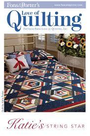 Katie's String Star Quilt Pattern Download &  Adamdwight.com