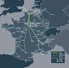 eurostar map  my blog