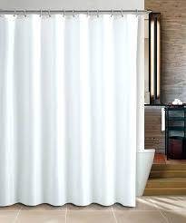 cotton shower curtain liner water repellent fabric shower curtain or liner in white fabric shower curtain