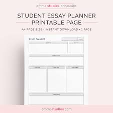 essay planner for students college university and high 🔎zoom