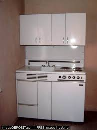 dwyer combo stove fridge sink cabinet metal kitchen unit