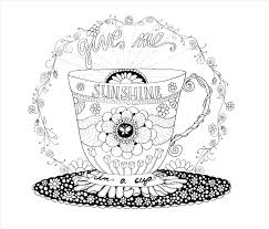 Starbucks Coloring Page At Getdrawingscom Free For Personal Use