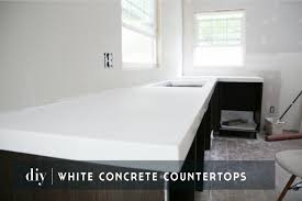 diy concrete countertops chris loves julia