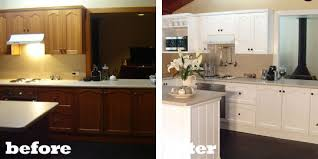 kitchen cabinets painted white before and afterWhite Painted Kitchen Cabinets Before And After  Home Design Jobs