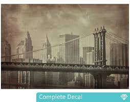 Small Picture Vintage New York Wall Mural YOUR DECAL SHOP NZ Designer Wall