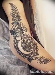фото красивые тату на бедре 12082019 090 Beautiful Tattoos On