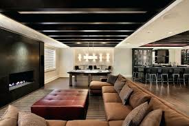 basement ceiling ideas cheap. Creative Ceiling Ideas Image Of New Basement Cheap E