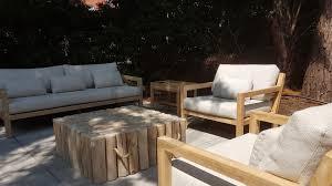 Olive Premium Loungegruppe Applebee Teak Line Gartenmö